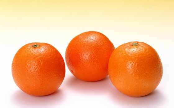 детей, оранжевый, апельсина