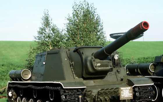 ису-152, установка