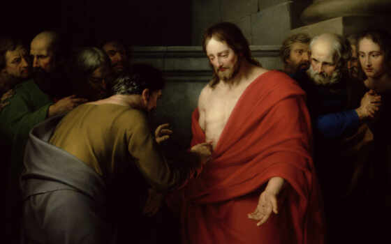 томас, неверующий, jesus