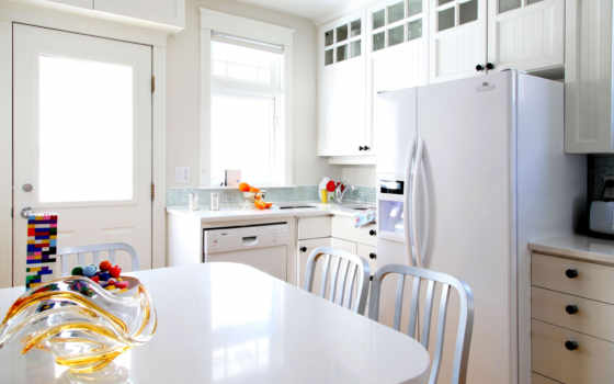 kitchen, интерьер, мебель