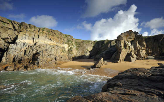 природа, море, скалы
