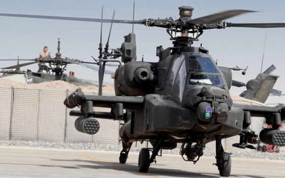 ah, apache, combat, вертолет, douglas, mcdonnell, картинка,