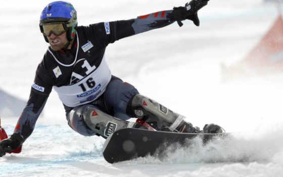 сноуборд, спорта, крепления