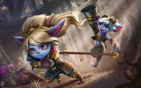 league, legends, lulu, сказание, poppy, tristana,