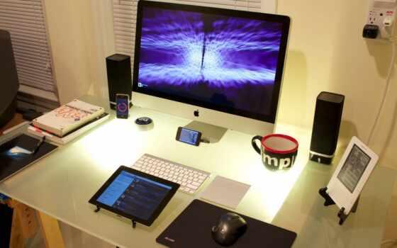 apple, technology, pro, компьютер, design, комната