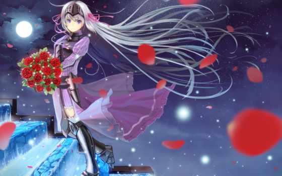 anime, девушка, зомби, лепестки, лестница, уже, ли, water, ветер, доспех, shell, kore, подборка, ghost, всегда,