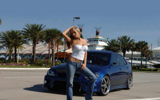 devushki, машины, девушка