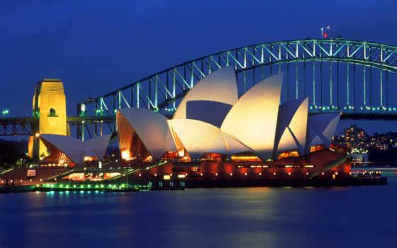 австралия, австралии, достопримечател, sydney, туры, season,