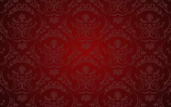 pattern, красный, винтаж,
