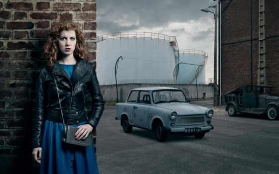 trabant, car, авто, девушка, ретро, antique, ан, vintage