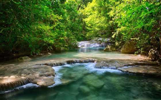 водопады, тайланд, водопад