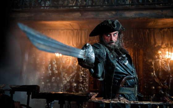 пираты, моря, карибского, странных, берегах, пиратский, море, корабли,