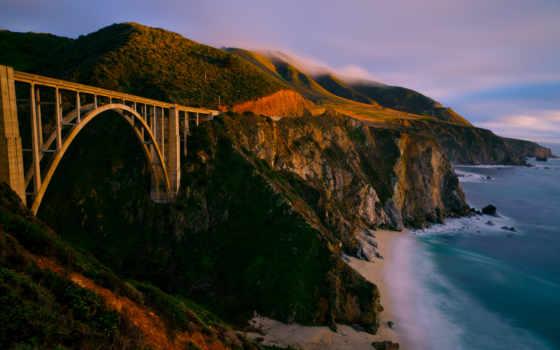 мост, bixby, биг, sur, заводь, california, photos, flickr,