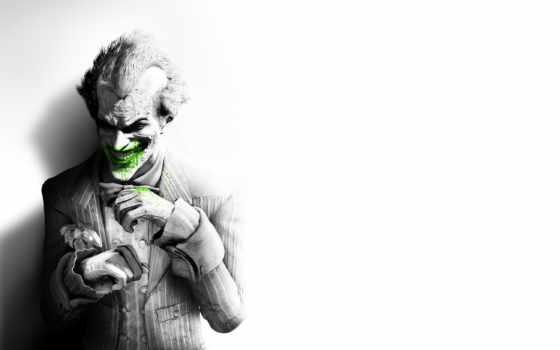 batman, arkham, город, joker, asylum, images,