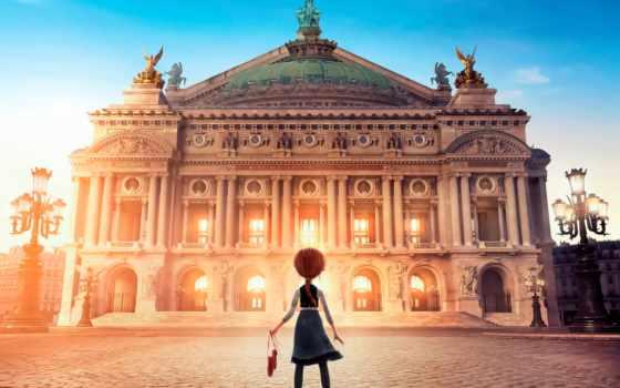 балерина, cartoon, дворец, фильмы, заставки, фонари, площадь, soundtrack,