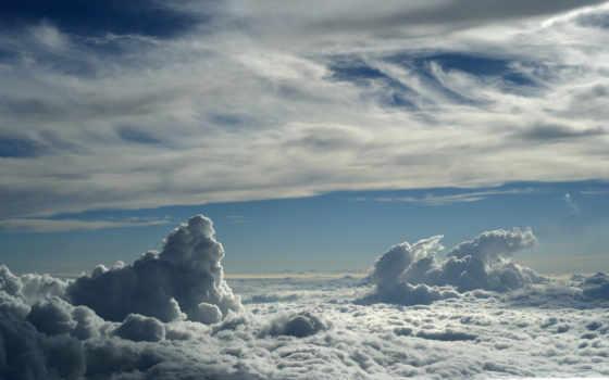 облака, clouds
