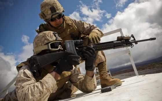 картинка, красиво, вид, солдаты, картинку, оружие, гильзы, автомат, рожки, прицел, каски,