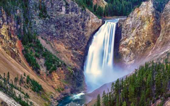 водопады, красивые, водопад