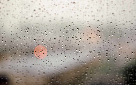 steklo, капли, дождь, okno,