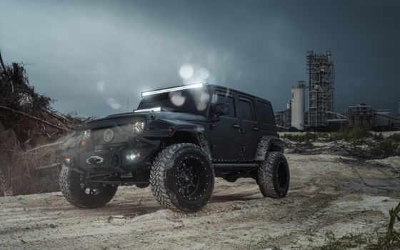 jeep, wrangler, black, машины, внедорожник,