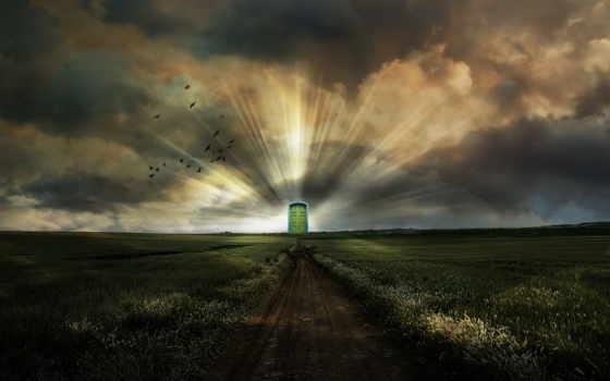 world, дверь, другой, двери, книгу, портал,