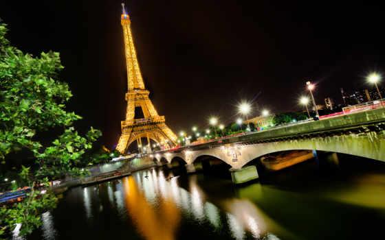 parede, papel, париж, башня, torre, eiffel,