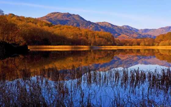 осень, шотландия, images, free, pictures,