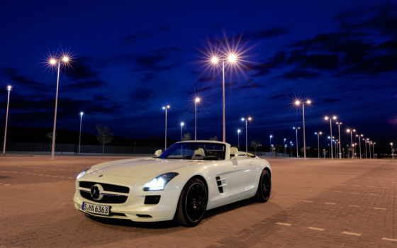 amg, sls, mercedes, roadster, benz,