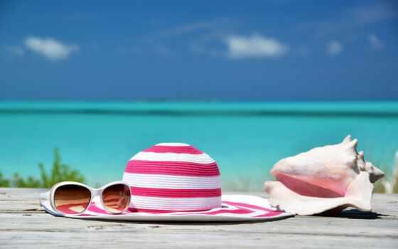 трубка, использование, шляпа, песок, пляж, foto, medium, editorial, bild, lizenzfreie