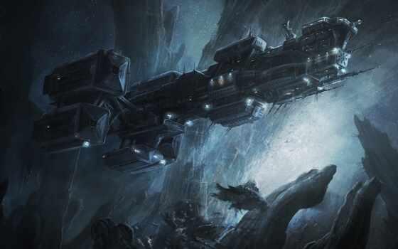 корабль, космос