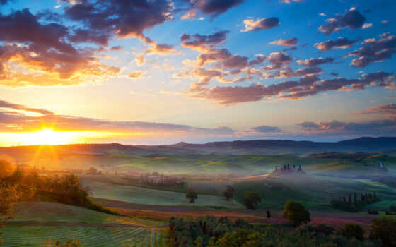 landscape, окно, природа, scenery, закат, mac, ноутбук, palm, ipad, іо