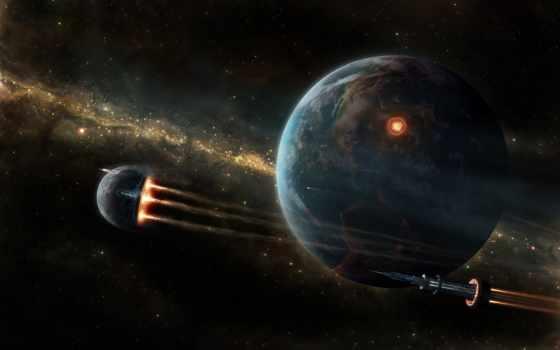 фото, космос