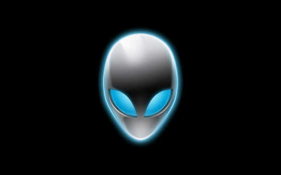logo, alien, alienware