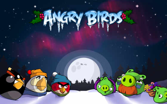 birds, angry, game, puzzle, злые,
