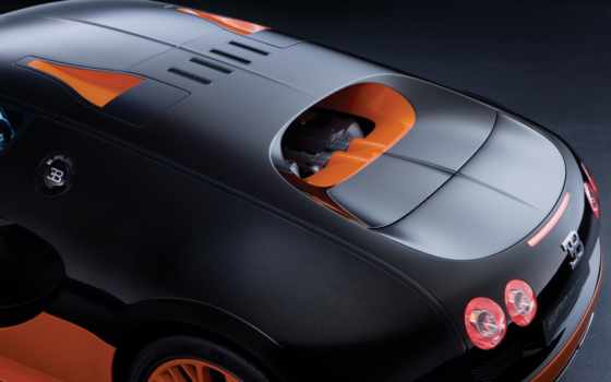 veyron, спорт, bugatti, супер, new, record, скорости,