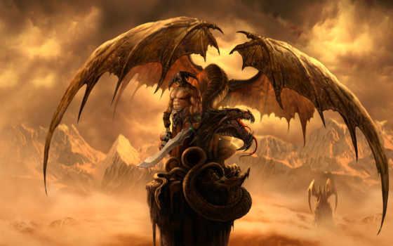 драконы, вечности, дракон, fantasy, art,