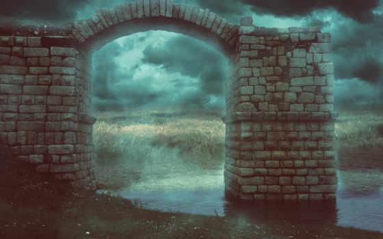 арка, darkness, скорость, подвал, tubing, спутник, темно, planet, ланшафт, корабли, silmad,