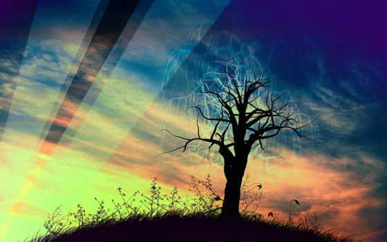 природа, free, art, desktop, rendering,
