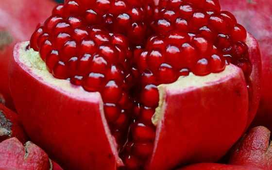 гранат, плод, fruits, desktop, full,