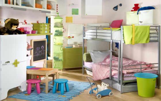 детей, комнаты, детской