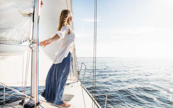 яхта, девушка, море, ветер, freedom, devushki, отдых, summer, очки,
