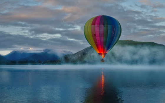 air, hot, balloon, небо, balloons, you,