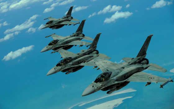falcon, картинка, истребитель, uae, пустыня, block, самолёт, fighting,