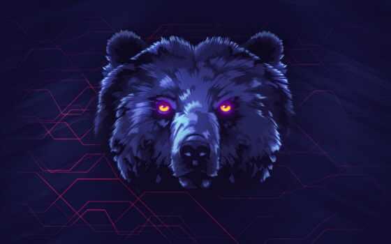 kill, кс, art, медведь, neon, cover, год, server, louise, mcnaught
