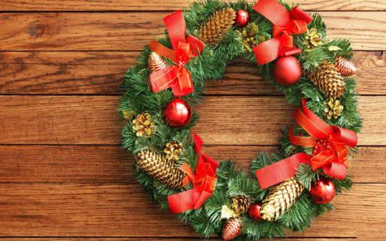 christmas, рождественские, новый, год, наступающим, lovely, wreath, beauty, harmony, balls, новогодние, colors, рождеством,