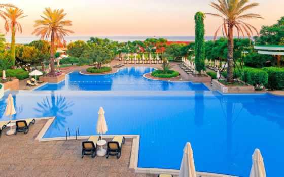 resort, verde, gloria, hotel, расположен, отеля, белек,