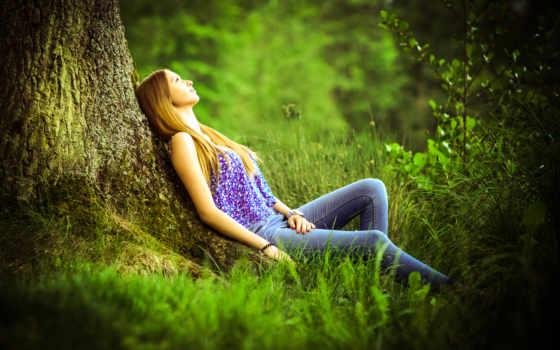 природе, природы, фотосессия, подборка, страница, прекрасными, рыжеволосая,