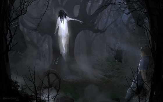 ghost, desktop, free, фон, photos,