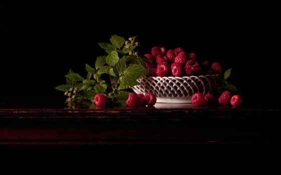 dark, ягоды, количество, листва, this, малина, мб, browse,
