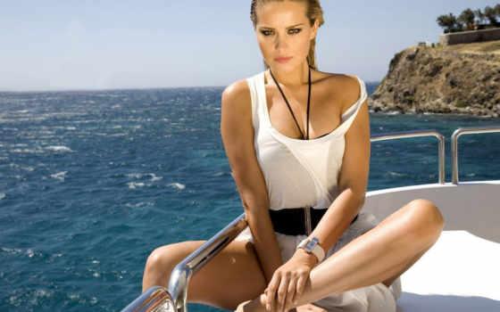 море, шаблон, фотошопа, девушка, psd, яхте, dpi, devushki, рамки, яхта, яхты,